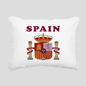 Spain Coat Of Arms Designs Rectangular Canvas Pill