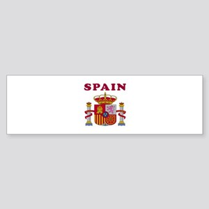 Spain Coat Of Arms Designs Sticker (Bumper)