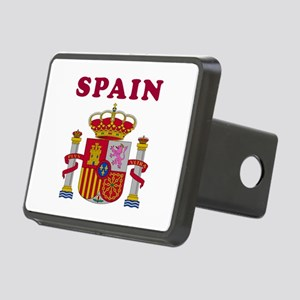 Spain Coat Of Arms Designs Rectangular Hitch Cover