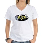 Mr. Hayes' Youtube Science Women's V-Neck T-Shirt