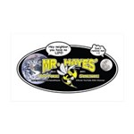 Mr. Hayes' Youtube Science 35x21 Wall Decal