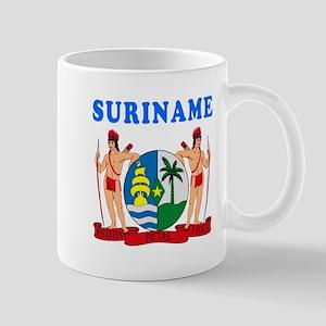 Suriname Coat Of Arms Designs Mug