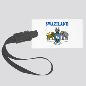 Swaziland Coat Of Arms Designs Large Luggage Tag