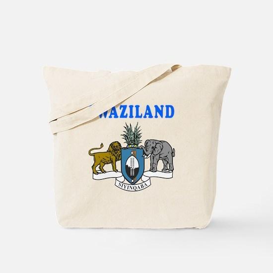 Swaziland Coat Of Arms Designs Tote Bag