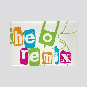 The Remix Rectangle Magnet