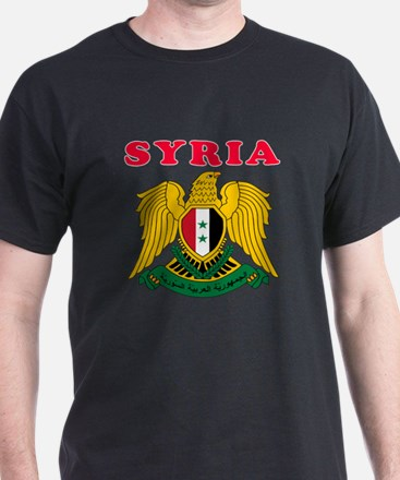 Syria Coat Of Arms Designs T-Shirt