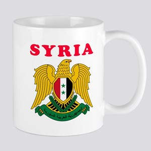 Syria Coat Of Arms Designs Mug