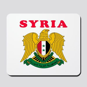 Syria Coat Of Arms Designs Mousepad