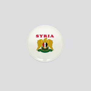 Syria Coat Of Arms Designs Mini Button