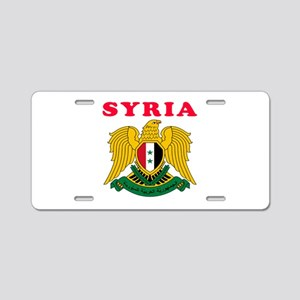 Syria Coat Of Arms Designs Aluminum License Plate