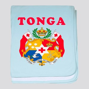 Tonga Coat Of Arms Designs baby blanket