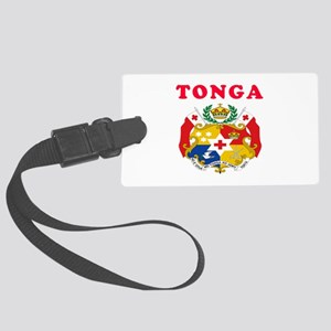 Tonga Coat Of Arms Designs Large Luggage Tag