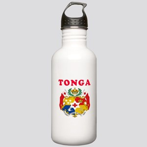 Tonga Coat Of Arms Designs Stainless Water Bottle