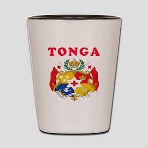 Tonga Coat Of Arms Designs Shot Glass