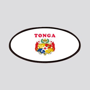 Tonga Coat Of Arms Designs Patches