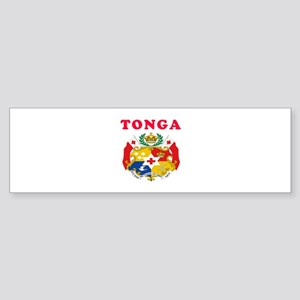 Tonga Coat Of Arms Designs Sticker (Bumper)