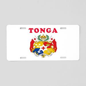 Tonga Coat Of Arms Designs Aluminum License Plate