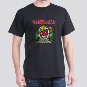 Tanzania Coat Of Arms Designs Dark T-Shirt