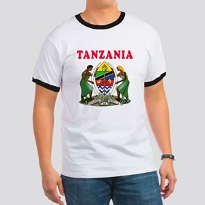 Tanzania Coat Of Arms Designs Ringer T
