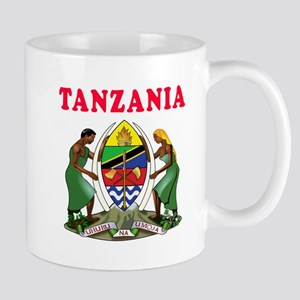 Tanzania Coat Of Arms Designs Mug