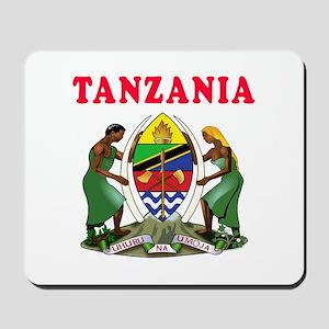 Tanzania Coat Of Arms Designs Mousepad