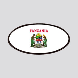 Tanzania Coat Of Arms Designs Patches