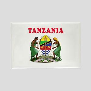 Tanzania Coat Of Arms Designs Rectangle Magnet