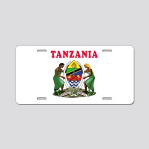 Tanzania Coat Of Arms Designs Aluminum License Pla