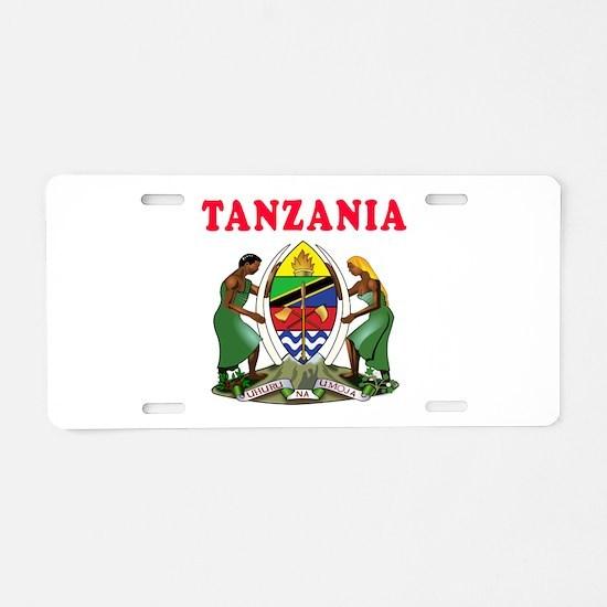 Tanzania Coat Of Arms Designs Aluminum License Pla