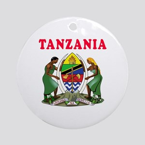 Tanzania Coat Of Arms Designs Ornament (Round)