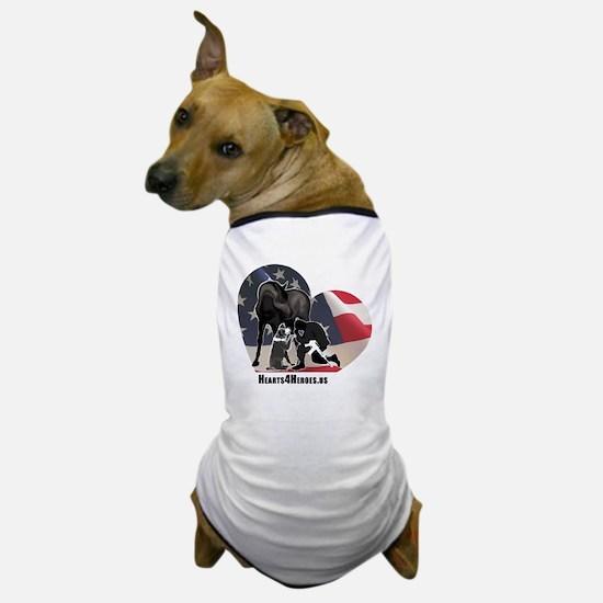 Hearts4Heroes Dog T-Shirt