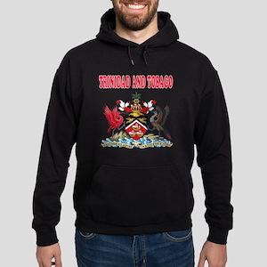 Trinidad and Tobago Coat Of Arms Designs Hoodie (d