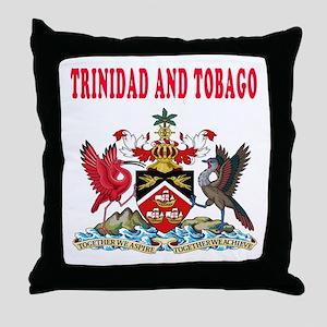 Trinidad and Tobago Coat Of Arms Designs Throw Pil