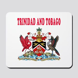Trinidad and Tobago Coat Of Arms Designs Mousepad