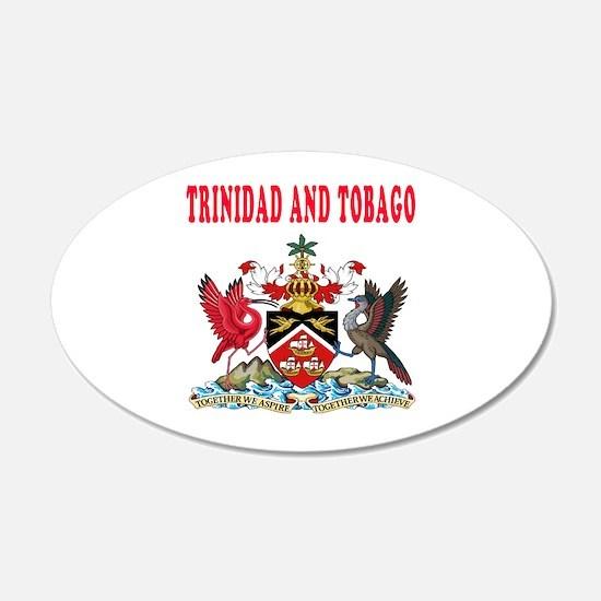 Trinidad and Tobago Coat Of Arms Designs Wall Decal