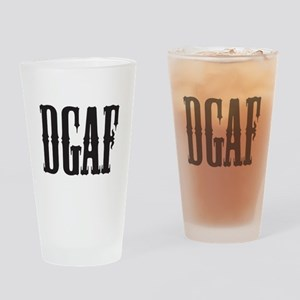 DGAF - Don't Give a F Drinking Glass