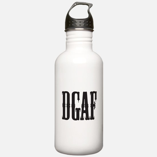 DGAF - Don't Give a F Water Bottle