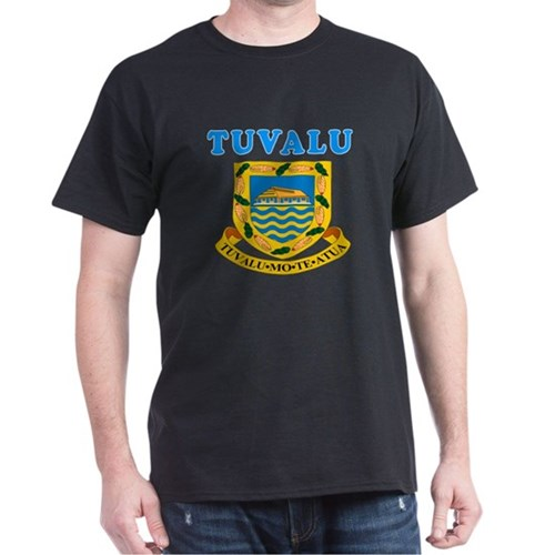 Tuvalu Coat Of Arms Designs T-Shirt