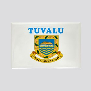 Tuvalu Coat Of Arms Designs Rectangle Magnet