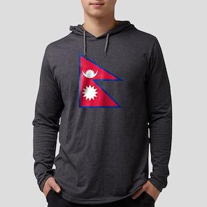 Nepal Mens Hooded Shirt