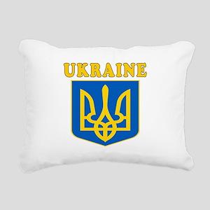 Ukraine Coat Of Arms Designs Rectangular Canvas Pi