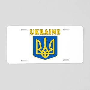 Ukraine Coat Of Arms Designs Aluminum License Plat