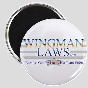 WingmanLaws Logo Magnet
