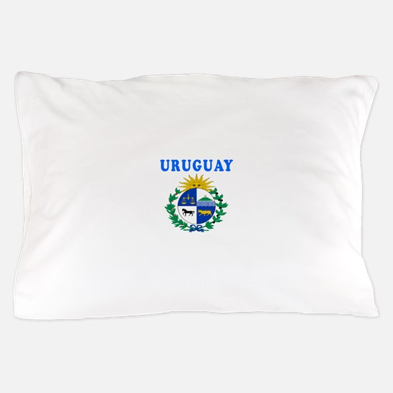 Uruguay Coat Of Arms Designs Pillow Case