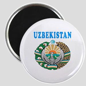Uzbekistan Coat Of Arms Designs Magnet