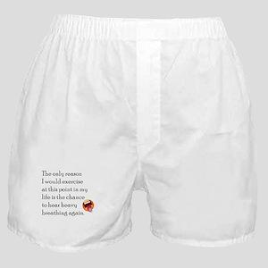 Breating Hard Boxer Shorts