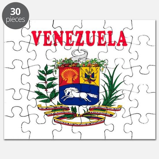 Venezuela Coat Of Arms Designs Puzzle