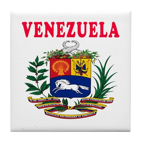Venezuela Coat Of Arms Designs Tile Coaster