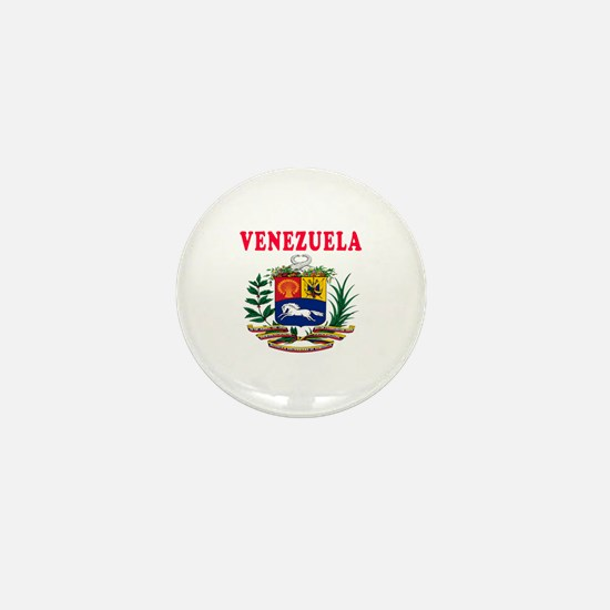 Venezuela Coat Of Arms Designs Mini Button