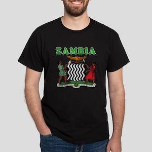 Zambia Coat Of Arms Designs Dark T-Shirt